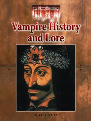 cover image of Vampire History and Lore
