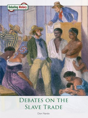 cover image of Debates on the Slave Trade