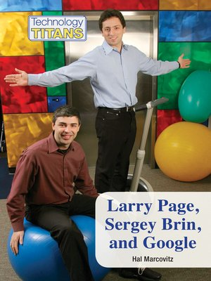cover image of Larry Page, Sergey Brin, and Google