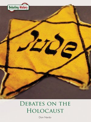 cover image of Debates on the Holocaust