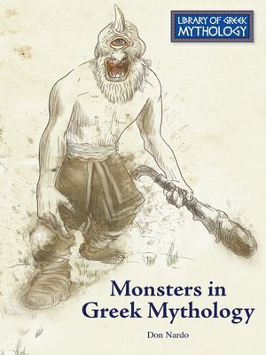 cover image of Monsters in Greek Mythology