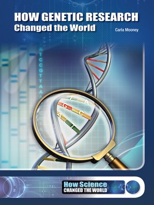 cover image of How Genetic Research Changed the World