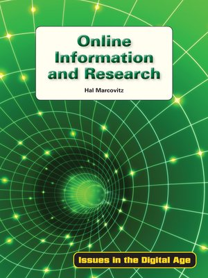 cover image of Online Information and Research