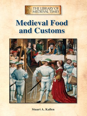 cover image of Medieval Food and Customs