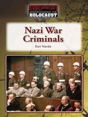 cover image of Nazi War Criminals