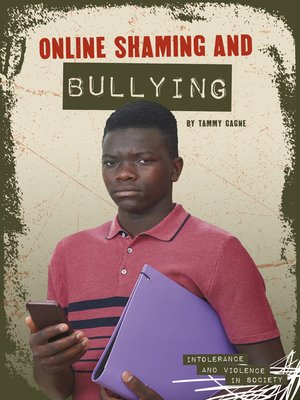 cover image of Online Shaming and Bullying