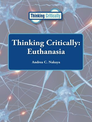 cover image of Euthanasia