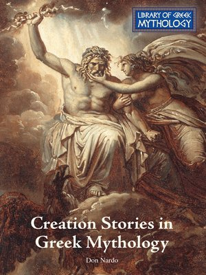 cover image of Creation Stories in Greek Mythology
