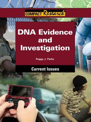 cover image of DNA Evidence and Investigation