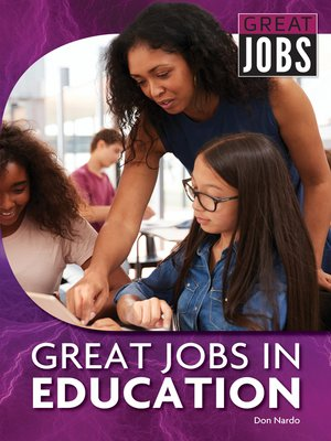 cover image of Great Jobs in Education