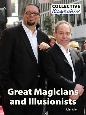 cover image of Great Magicians and Illusionists