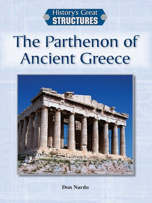 cover image of The Parthenon of Ancient Greece
