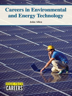 cover image of Careers in Environmental and Energy Technology