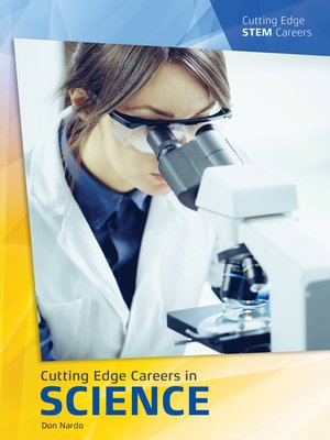 cover image of Cutting Edge Careers in Science