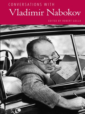 cover image of Conversations with Vladimir Nabokov