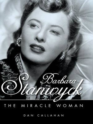 cover image of Barbara Stanwyck