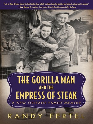 cover image of The Gorilla Man and the Empress of Steak
