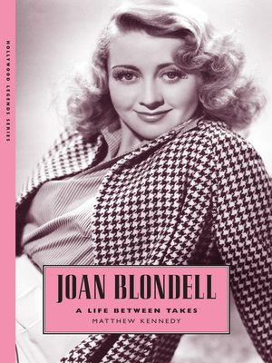 cover image of Joan Blondell