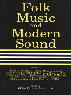 cover image of Folk Music and Modern Sound