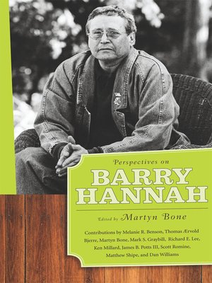 cover image of Perspectives on Barry Hannah