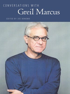 cover image of Conversations with Greil Marcus