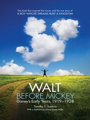 cover image of Walt before Mickey