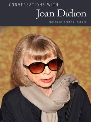 cover image of Conversations with Joan Didion