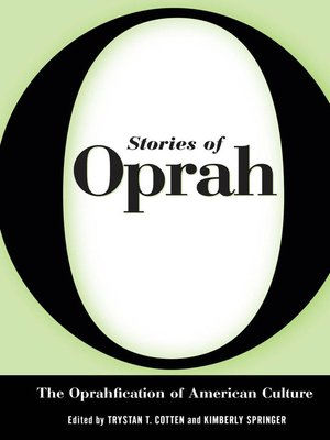 cover image of Stories of Oprah