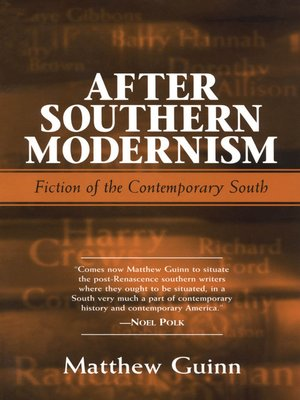 cover image of After Southern Modernism
