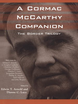 cover image of A Cormac McCarthy Companion