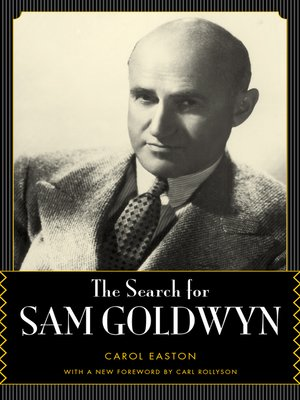 cover image of The Search for Sam Goldwyn