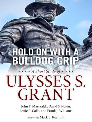 cover image of Hold On with a Bulldog Grip