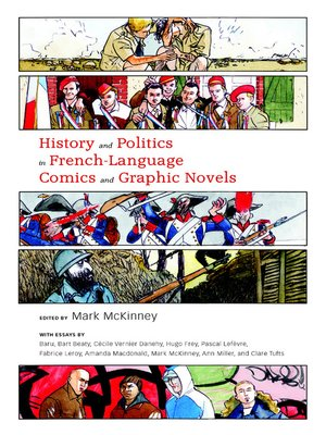 cover image of History and Politics in French-Language Comics and Graphic Novels