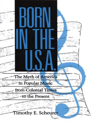 cover image of Born in the U. S. A.