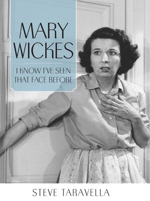 cover image of Mary Wickes