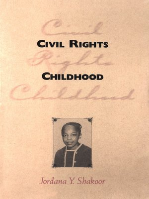 cover image of Civil Rights Childhood