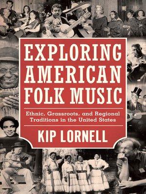 cover image of Exploring American Folk Music