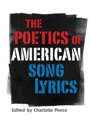 cover image of The Poetics of American Song Lyrics