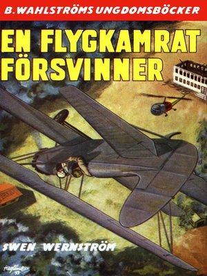cover image of Flygkamraterna 6--En flygkamrat försvinner