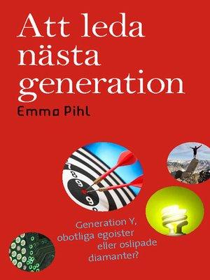 cover image of Att leda nästa generation