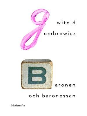 cover image of Baronen och baronessan