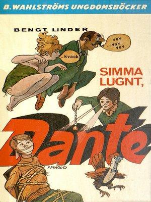 cover image of Dante 11--Simma lugnt, Dante