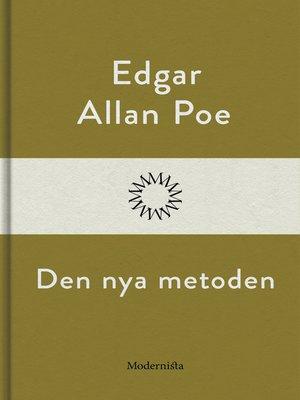 cover image of Den nya metoden