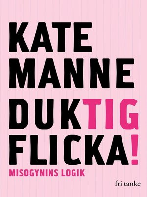 cover image of Duktig flicka