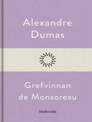 cover image of Grefvinnan de Monsoreau