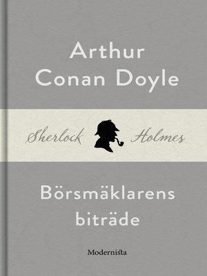 cover image of Börsmäklarens biträde (En Sherlock Holmes-novell)