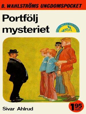 cover image of Tvillingdetektiverna 40--Portfölj-mysteriet