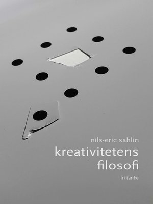 cover image of Kreativitetens filosofi