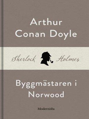 cover image of Byggmästaren i Norwood (En Sherlock Holmes-novell)