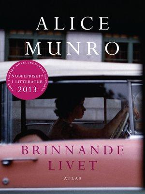 cover image of Brinnande livet